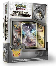 Arceus Mythical Collection Pin Box Pokemon TCG Generations Pack 20th Ann... - $19.95