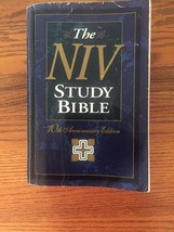 NIV Study Bible Paperback Acceptable - $15.00