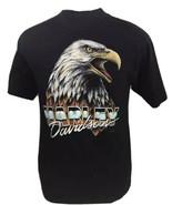 Vintage Harley Davidson T Shirt 3D Emblem Biker Trucker German Military 80s - $179.99