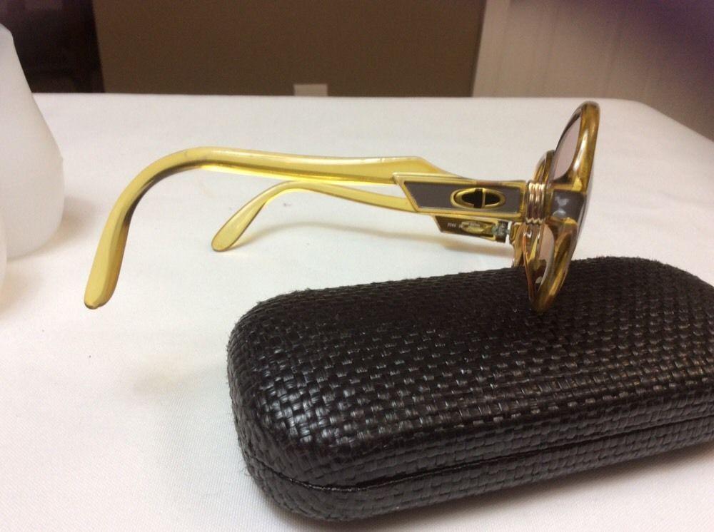 b85e8f5ecc Vintage 80s Christian Dior glasses 54 16 made Austria 2243 Sun Glasses