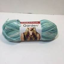 1 Skein Garden Yarn Premier Light Worsted 3.5 oz Acrylic Mill Pond - $5.94