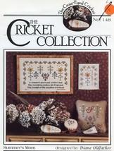 Cricket No. 148 Summer's Morn Cross Stitch Pattern Leaflet - $3.57