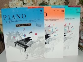 Piano Adventures Basic Piano Method Set of Three Books - $9.99