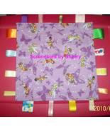 Purple Tinker Bell Flannel Ribbon Blanket Baby Girl - $22.95