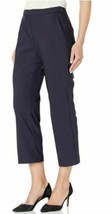Amazon Brand - Lark & Ro Women's Stretch Crop Kick Flare Pant -Atlantic Navy image 1
