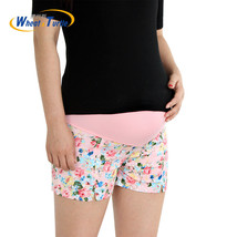 New Summer Flower Shorts For Maternity Ultra Thin Hot Pants For Pregnant... - $14.63