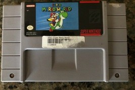 Super Nintendo  Super Mario World NES Video Game, Cartridge Only, Tested 1991 - $14.24