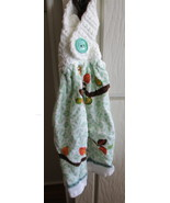 Kitchen Towel with Crocheted Top - Owl - $4.00