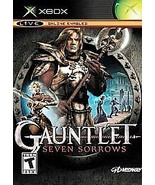 Gauntlet: Seven Sorrows (Microsoft Xbox, 2005) {NTSC} *Used* No Instruct... - $8.01