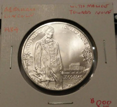 1984 Abraham Lincoln With Malice Toward None Aluminum Medal - $9.00
