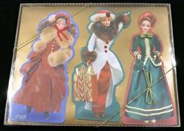1996 Barbie Hallmark Embossed Cards Mint in Package - $4.89