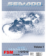 1999 SEADOO GS GSX GSX RFI GTI GTS GTX SPX XP LIMITED SHOP MANUAL - DOWN... - $14.95