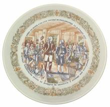 Limoges Marquis de Lafayette Legacy Collection Plate City Tavern of Philadelphia - $35.67
