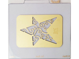 Sizzix Metal Embossing Plate, Star #2 #38-9578 image 1