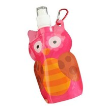 PANDA SUPERSTORE [Set of 2] Cute Cartoon OWL Kid Anti-Bottle Hiking/Camping/Spor