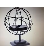 """22"""" Seven Tealight Candler Holder Iron Globe Sphere Freestanding or Hang... - $133.64"""