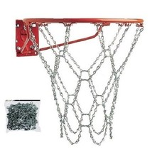 Basketball Chain Net Galvanized Silver Outdoor Sports NEW - $14.84