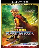 Thor Ragnarok [4K Ultra HD + Blu-ray + Digital, 2018] - $21.71
