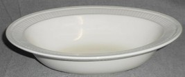 Wedgwood EDME PATTERN Oval Serving/Vegetable Bowl MADE IN ENGLAND - $23.75