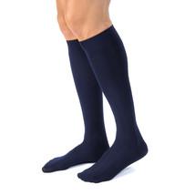 Jobst forMen Casual 15-20 mmHg Large Navy Knee High - $38.44