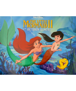 Disney's The Little Mermaid II Return To The Sea 4 Lithograph Set New - $12.00