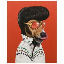 Empire Art Direct Pets Rock Vegas Graphic on on Wrapped Dog Canvas Wall ... - $54.99