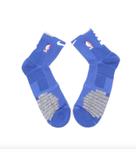 New Nike 2XL NBA Authentics Team Issued Detroit Pistons Over Ankle Socks... - $24.70