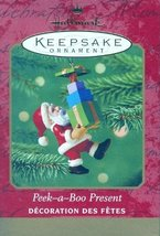 Hallmark Keepsake Ornament Peek-a-Boo Present - $0.98