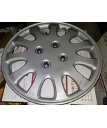 """KT-880-14 Silver 14"""" Hubcap Wheel Cover Adjustable Retention Ring SOLD SOLO - $8.90"""