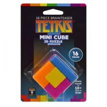 Tetris 3D Mini Cube 16 Pieces Masterpieces Puzzles Co. - $14.99