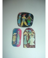3 Lucinda Ladies Fashion Jewelry Pins - $59.99