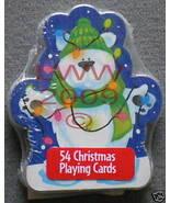 1 Christmas Polar Bear playing card deck NEW ~ - $3.99