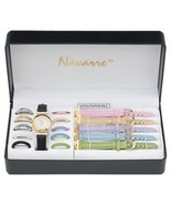 Navarre™ Ladies' Watch with Interchangeable Bands and Faces - $11.99