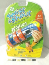 Leapfrog ADDITION Math Learning Game TWIST & SHOUT New Sealed 4 Modes + ... - $36.13