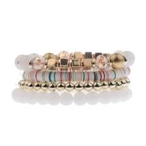 Amader Bohemian Style Women's Multiple Beads Bracelet Set 2017 Summer Ch... - $11.37
