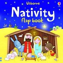 Nativity Flap Book (Usborne Flap Book) Taplin, Sam and Greenwell, Jessica - $1.83
