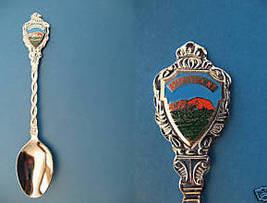 AYERS ROCK NORTHERN TERRITORY Australia Souvenir Collector Spoon ULURU  - $6.95