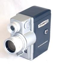 CROWN 8 Model 507 Vintage Movie Camera Reflex Zoom 7.5-30mm f/1.8 Lens J... - $57.60