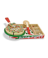 Melissa and Doug Play Food Pizza Party Set by Melissa & Doug - $15.00