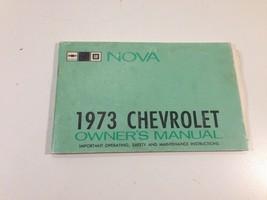 1973 Chevrolet Nova Owner's Manual Original OEM 328896A - $14.99