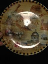 "Vintage Montreal Canada Souvenir Collectible Plate Decor 7"" Collector Travel image 3"