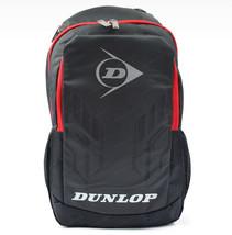 DUNLOP ELITE PRO Backpack Badminton Bag 1901 Black Gray Racket Shuttleco... - $76.33