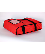 """Nylon Insulated Pizza Delivery Bag Size 18"""" x 18"""" x 5"""" - $16.99"""