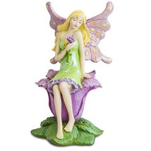Enchanted Hollow Fairy 'Cherish' Figurine by Russ Berrie - $7.83