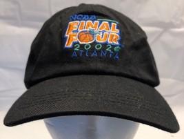NCAA Final Four 2002 Atlanta Basketball Peach Logo Mountain Dew Black Hat HTM - $19.59