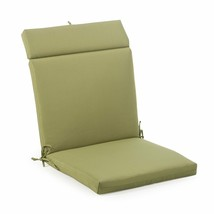 "Summer Green Outdoor Patio Chair Cushion Pad Hinged Seat Back 44"" L x 22"" W - $58.90"