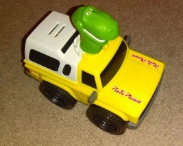 Disney Pixar Toy Story Shake N' Go Rex Pizza Planet Yellow Truck  - $5.90
