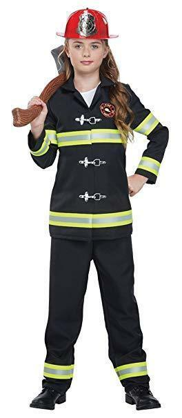 California Costumes Junior Fire Chief Firefighter Childs Halloween Costume 00593