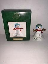 Hallmark Keepsake Ornament Collector's Club Snowman 2002 - $7.50