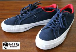 Mens Converse Chuck Taylor One Star Shield Canvas Fashion Sneakers 153702C Sz 6 - $59.99